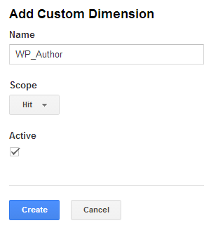 AddCustomDimension